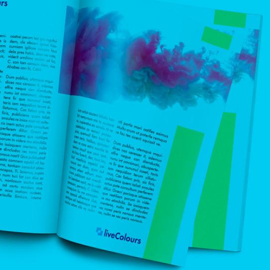 Impresión<br/>Catálogos y revistas